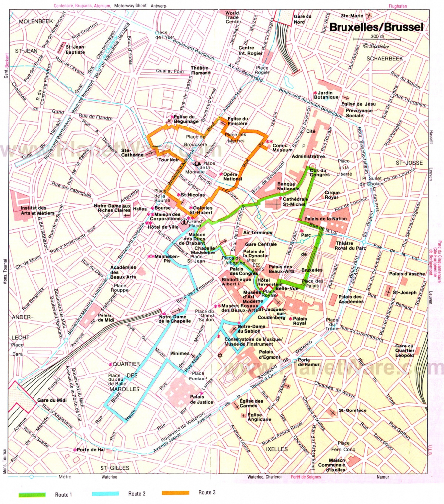 14 Top Rated Tourist Attractions Things To Do In Brussels New Map Of throughout Tourist Map Of Brussels Printable