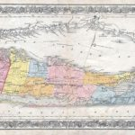 1857 Colton Traveller's Map Of Long Island, New York | Maps | Pinterest In Printable Map Of Long Island Ny