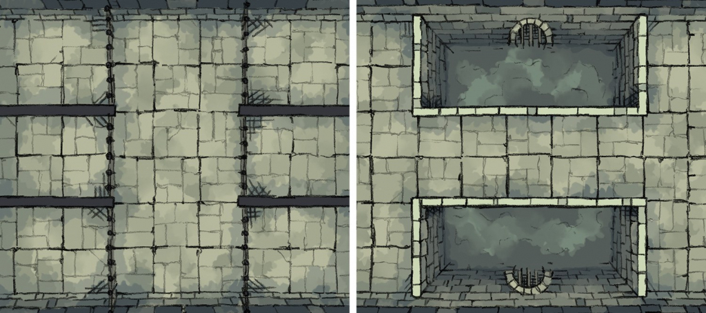"""2-Minute """"print & Play"""" Maps! - Arts & Crafts - D&d Beyond General for Printable D&d Map Tiles"""
