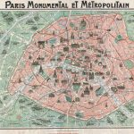20 Free Vintage Map Printable Images | Remodelaholic #art For Street Map Of Paris France Printable