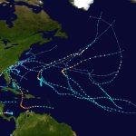 2016 Atlantic Hurricane Season   Wikipedia Within Printable Hurricane Tracking Map 2016