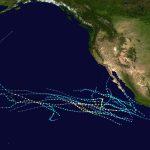 2016 Pacific Hurricane Season   Wikipedia Throughout Printable Hurricane Tracking Map 2016