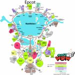 2017 Epcot Maps Printable | Easy Guide – Easywdw | I Wanna Go! In Within Printable Epcot Map 2017