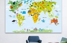Kid Friendly World Map Printable