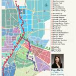 2019 Update: Houston Metro Rail Map   Neighborhoods Near Metrorail Inside Downtown Houston Map Printable