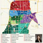 2019 Update: Houston Neighborhoods | Houston Map, Real Estate, Homes For Downtown Houston Map Printable
