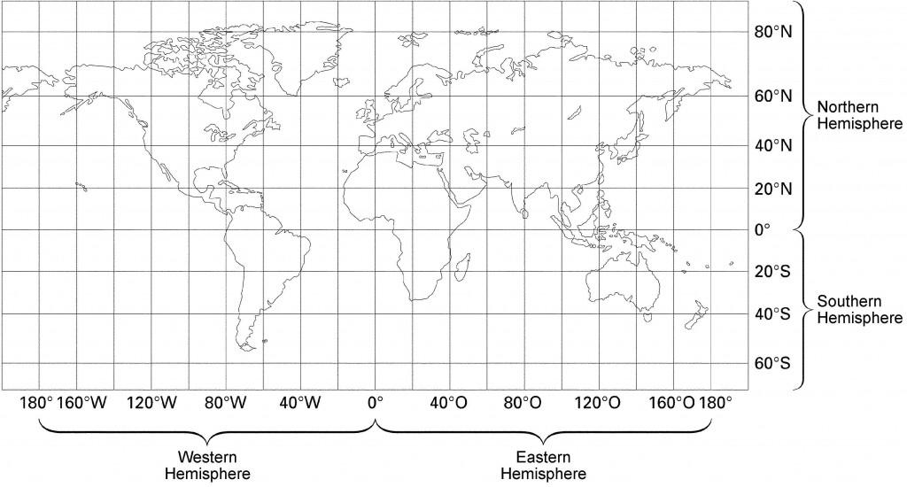 23 World Map With Latitude And Longitude Lines Pictures pertaining to World Map With Latitude And Longitude Lines Printable
