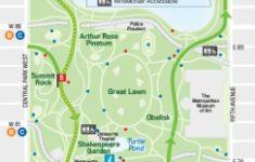 Nyc Walking Map Printable