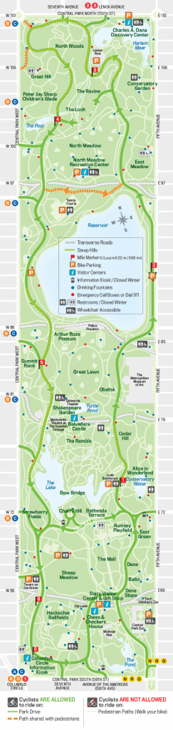 27 Things To Do In Central Park | Free Toursfoot for Nyc Walking Map Printable