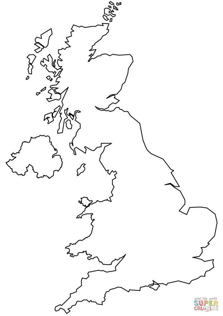 5 Outline Map Of United Kingdom Printable - Anime And Game - Anime pertaining to Outline Map Of England Printable