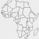5 Outline Maps Africa   My Blog Inside Printable Map Of Africa