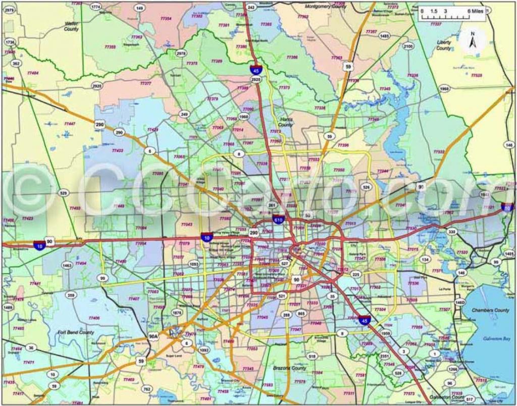 600 Dpi Harris County Zip Codes   Houston Zip Code Map   Houston Zip with Houston Zip Code Map Printable