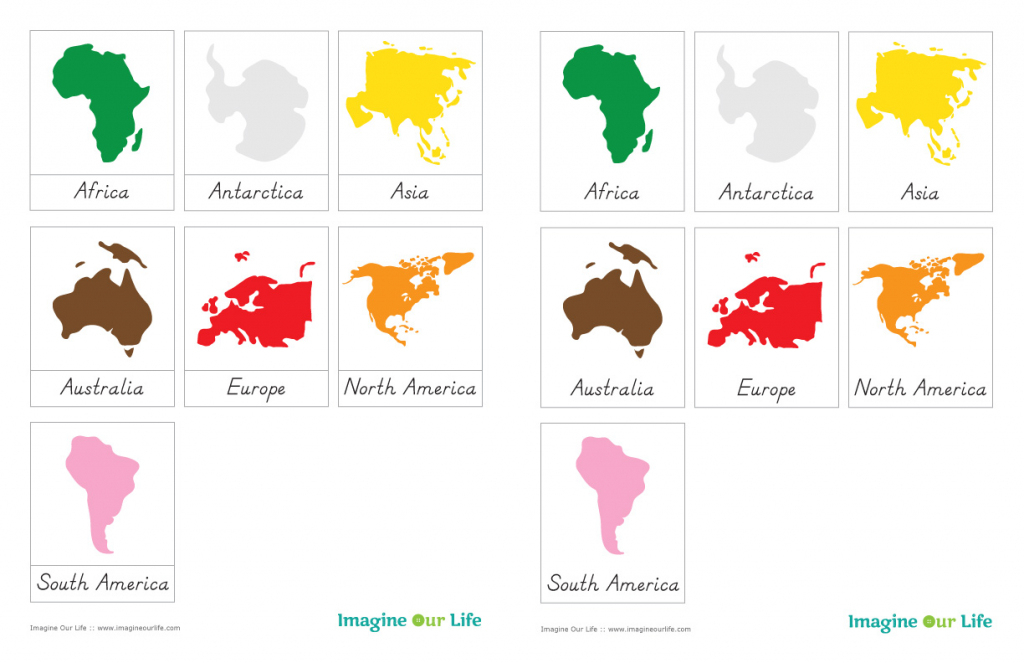 7 Continents Coloring Page | Free Download Best 7 Continents regarding Montessori World Map Printable