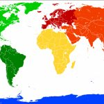 7 Continents Map | Science Trends Intended For 7 Continents Map Printable