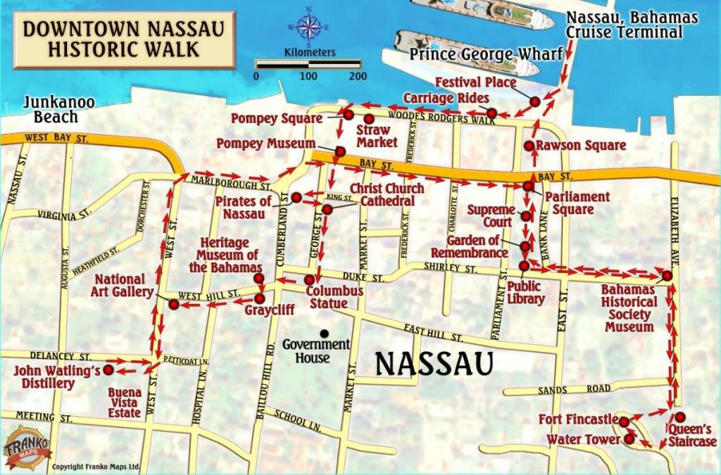 71D0Tbzn6Xl 17 Nassau Bahamas Map - Grandeturkiye inside Printable Map Of Nassau Bahamas