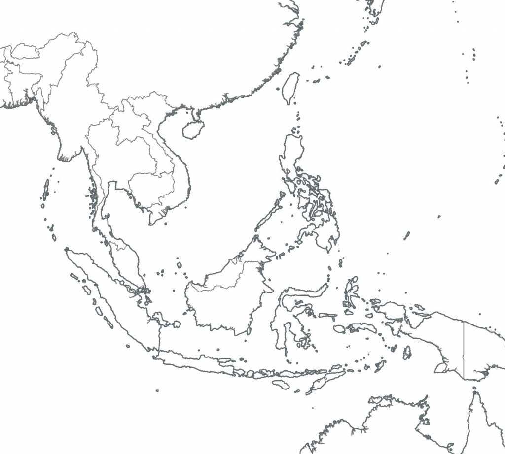 8 Free Maps Of Asean And Southeast Asia - Asean Up intended for Printable Map Of Southeast Asia