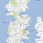 A Game Of Thrones Map, Google Maps Style   Nerdist With Game Of Thrones Printable Map