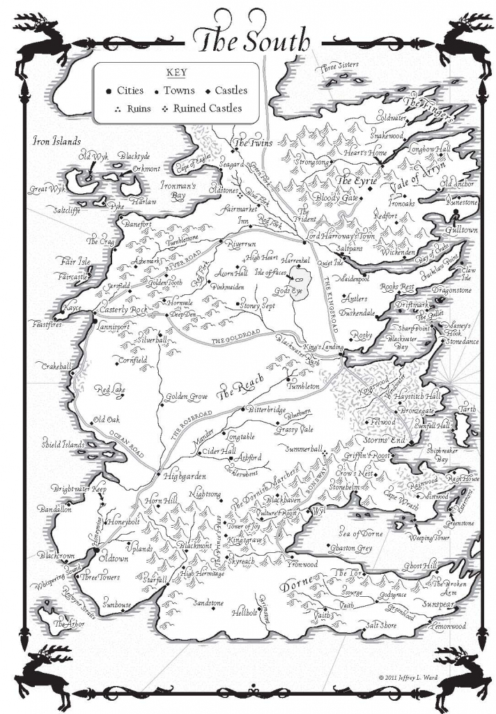 A Game Of Thrones – Maps - Random House Books with regard to Game Of Thrones Printable Map