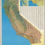 A Jeppesen Natural   Color Relief Map   David Rumsey Historical Map With California Relief Map Printable