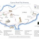 A Road Trip In Cyprus   Free Printable Map   Road Trips Around The World Intended For Printable Road Trip Maps