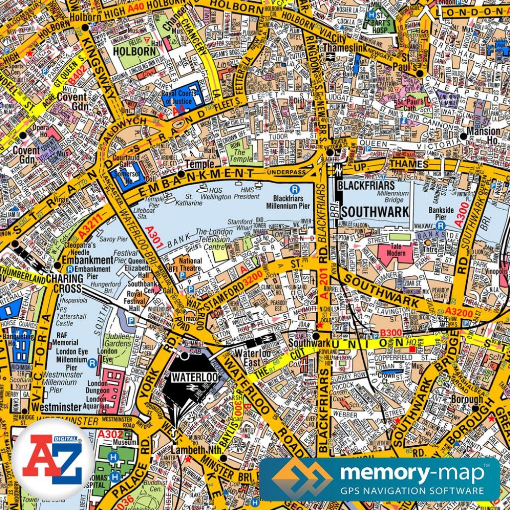 A-Z-Street-Atlas-Maps for Printable Maps By Waterproofpaper Com