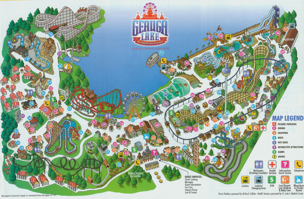 Abandoned: Inside The Epic Life And Closure Of The World's Largest with regard to Six Flags New England Map Printable