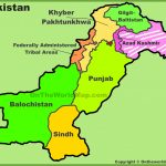Administrative Divisions Map Of Pakistan With Printable Map Of Pakistan