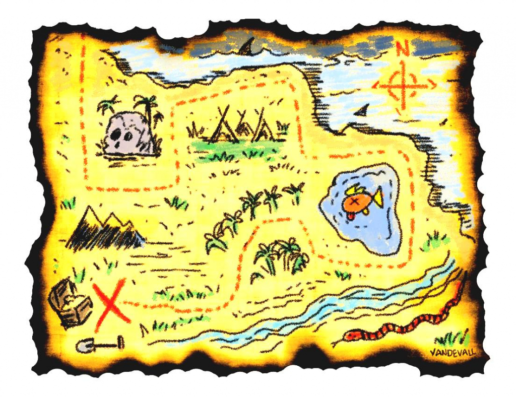 Adventure Map Clipart Printable Treasure Maps For Kids In - Clipartpost intended for Printable Treasure Maps For Kids