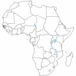 Africa Blank Political Map   Earthwotkstrust Regarding Blank Political Map Of Africa Printable