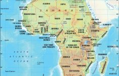 Printable Map Of Africa With Countries And Capitals