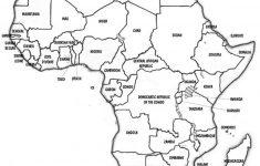 Africa Map Quiz Printable
