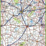 Alabama Road Map Within Printable Alabama Road Map