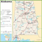 Alabama State Maps | Usa | Maps Of Alabama (Al) Within Printable Alabama Road Map