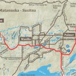 Alaska Maps Of Cities, Towns And Highways In Printable Map Of Alaska With Cities And Towns