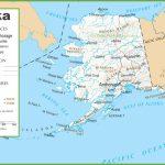Alaska Road And Railroad Map Regarding Printable Map Of Alaska