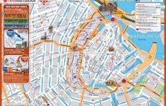 Amsterdam Tram Map Printable