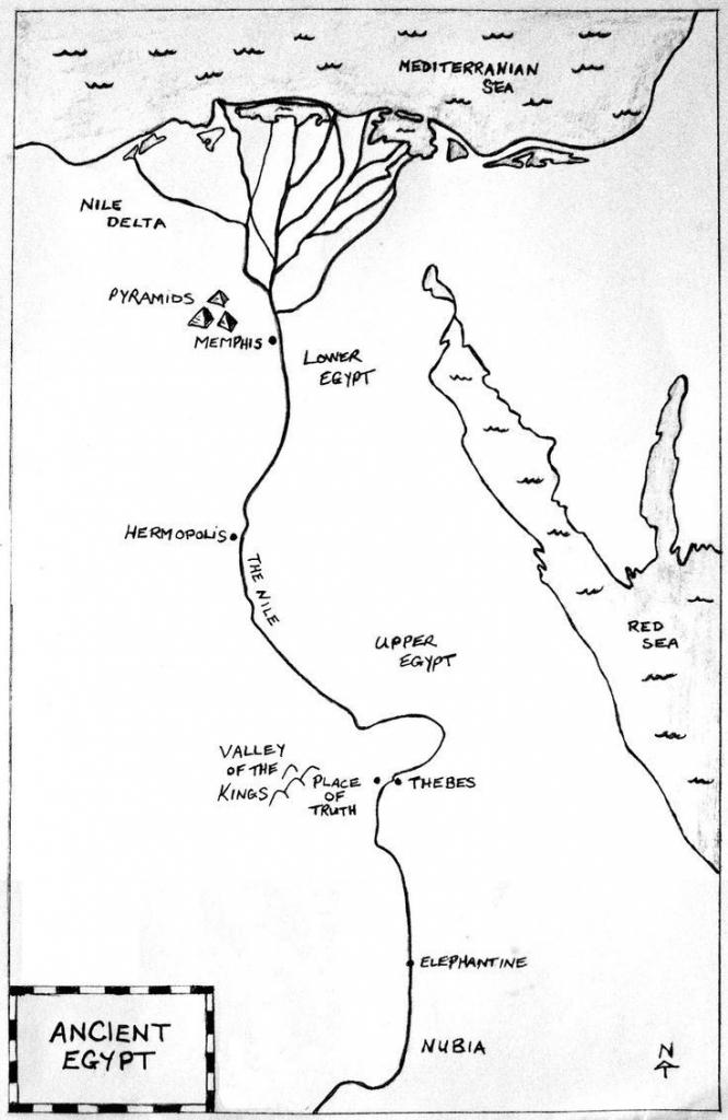 Ancient Egypt Maps Printables | D1Softball for Ancient Egypt Map Printable