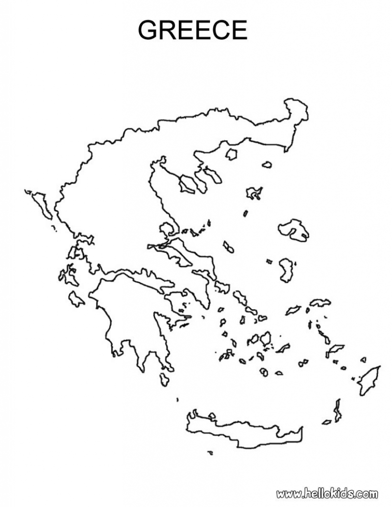 Ancient Greece Coloring Pages For Kids. Greece Coloring Pages Greece for Ancient Greece Map For Kids Printables