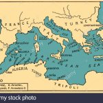Ancient Mediterranean Map Medseamaplarge Printable Of Greece With Mediterranean Map Printable