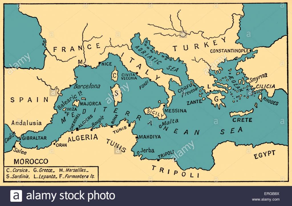 Ancient Mediterranean Map Medseamaplarge Printable Of Greece with Mediterranean Map Printable