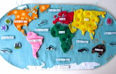 Montessori World Map Printable