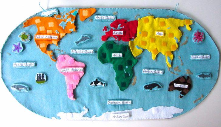 Montessori World Map Printable
