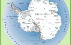 Antarctica Maps | Maps Of Antarctica – Ontheworldmap regarding Printable Map Of Antarctica