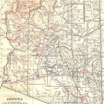 Antique Images: Printable Antique Map Free Image United States With Free Printable Map Of Arizona