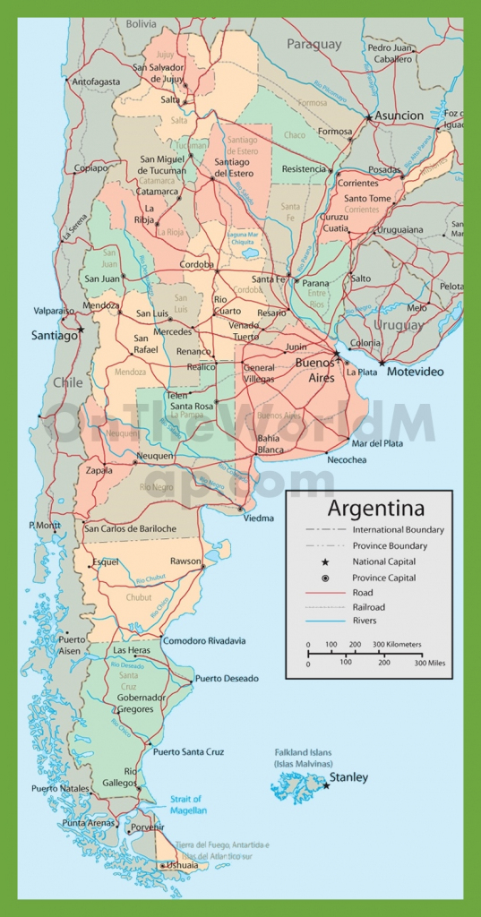 Argentina Maps | Maps Of Argentina pertaining to Printable Map Of Argentina