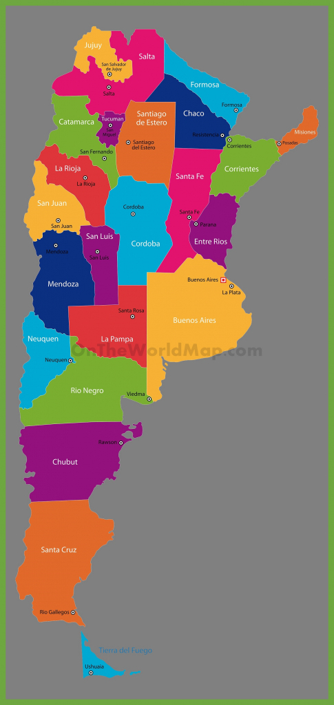 Argentina Maps | Maps Of Argentina throughout Printable Map Of Argentina