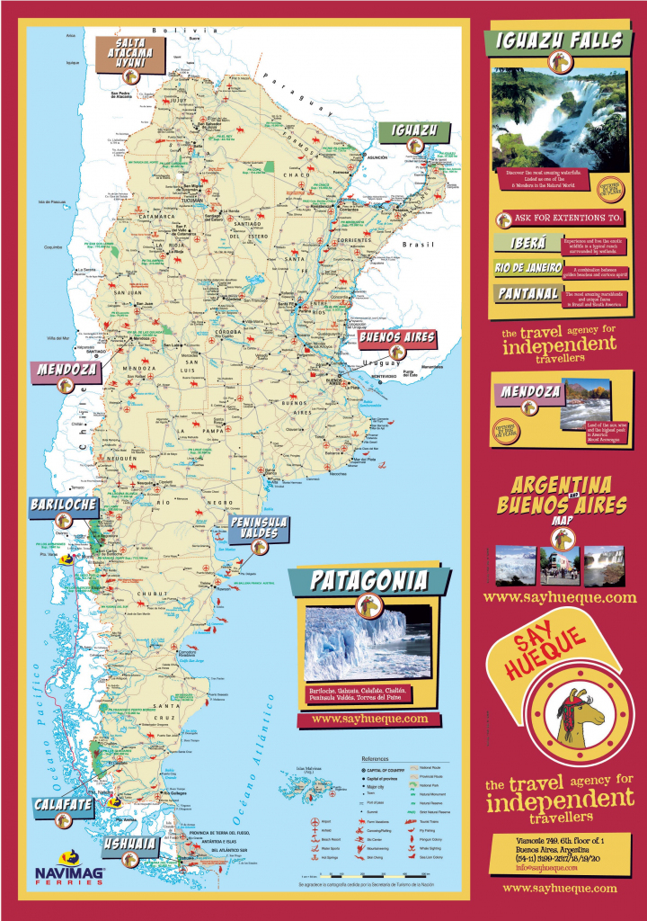Argentina Maps | Printable Maps Of Argentina For Download with Printable Map Of Argentina