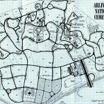 Arlington National Cemetery Map In Printable Map Of Arlington National Cemetery