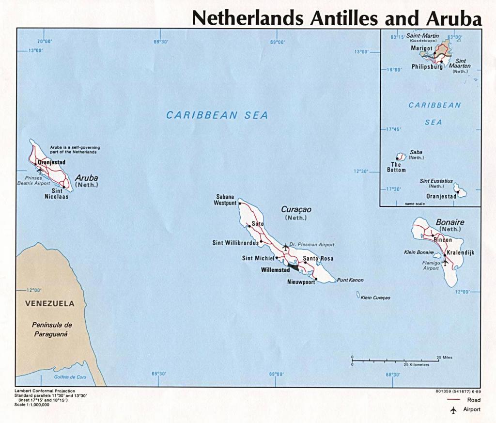 Aruba Maps | Printable Maps Of Aruba For Download within Printable Map Of Aruba