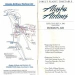 As Route Map 1990   Flyertalk Forums Inside Alaska Airlines Printable Route Map